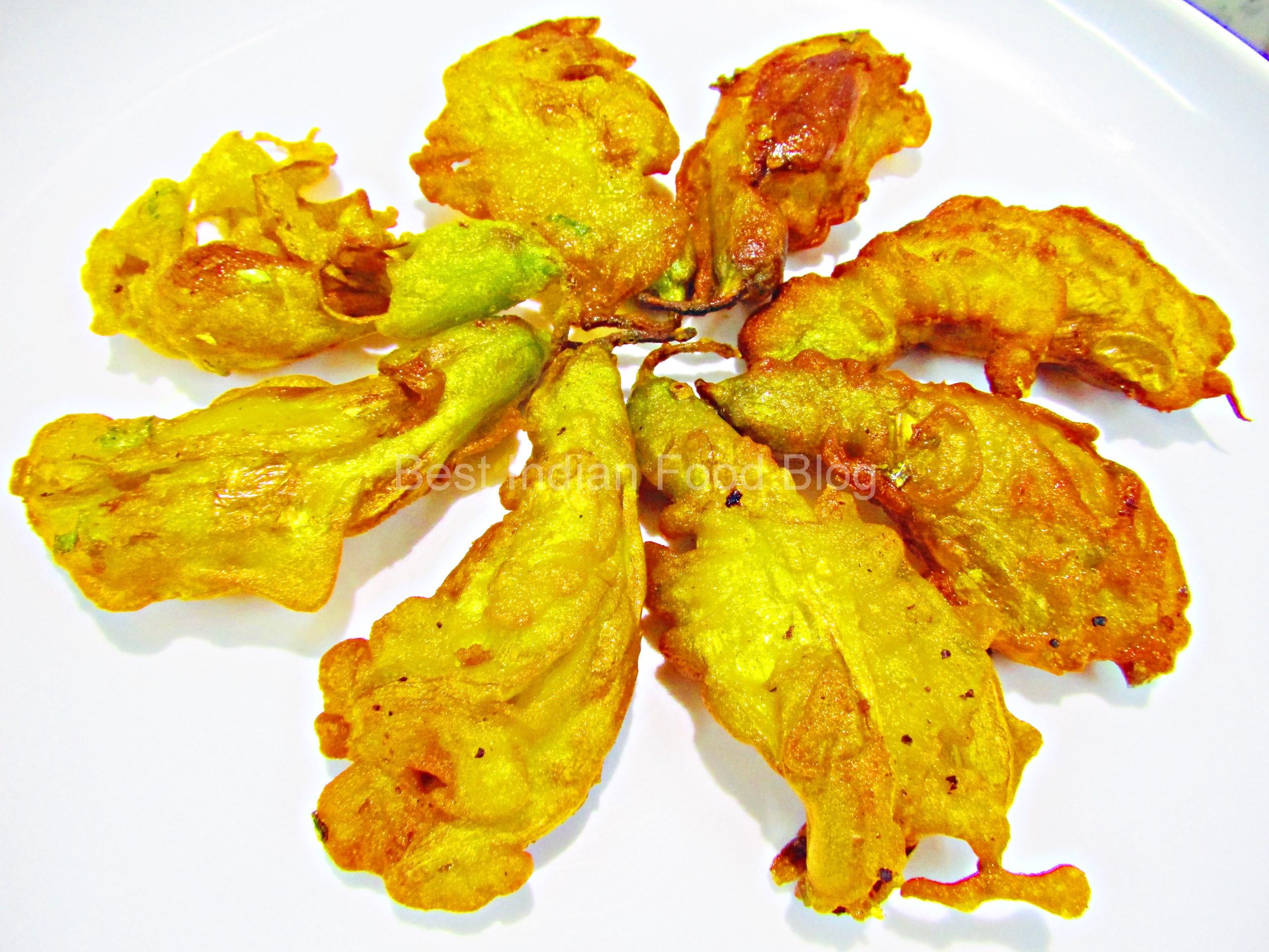 Bokphool Bhaja from West Bengal, India   Best Indian Food Blog   Hummingbird Flower recipe