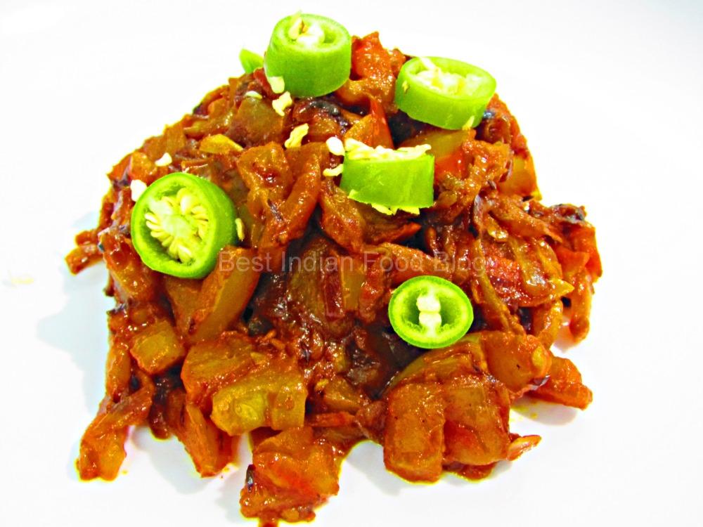 Kanda Tomator Bhuna