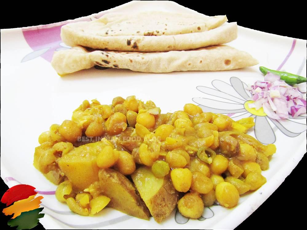 Roti Ghugni