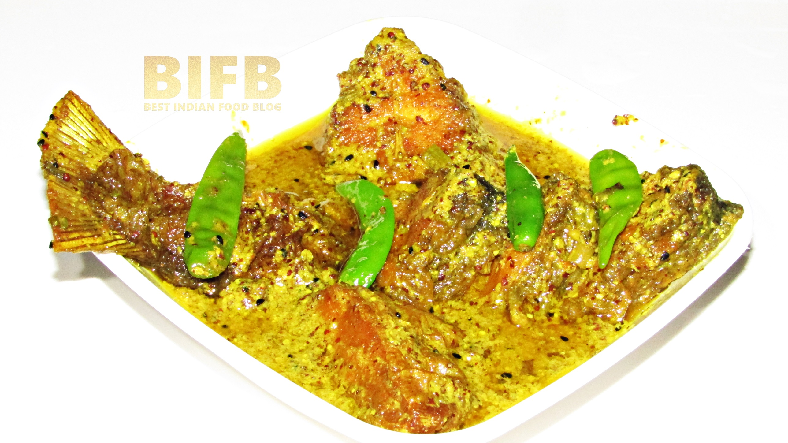Sorse Chanda from West Bengal, India   Best Indian Food Blog   Pomfret fish Mustard recipe