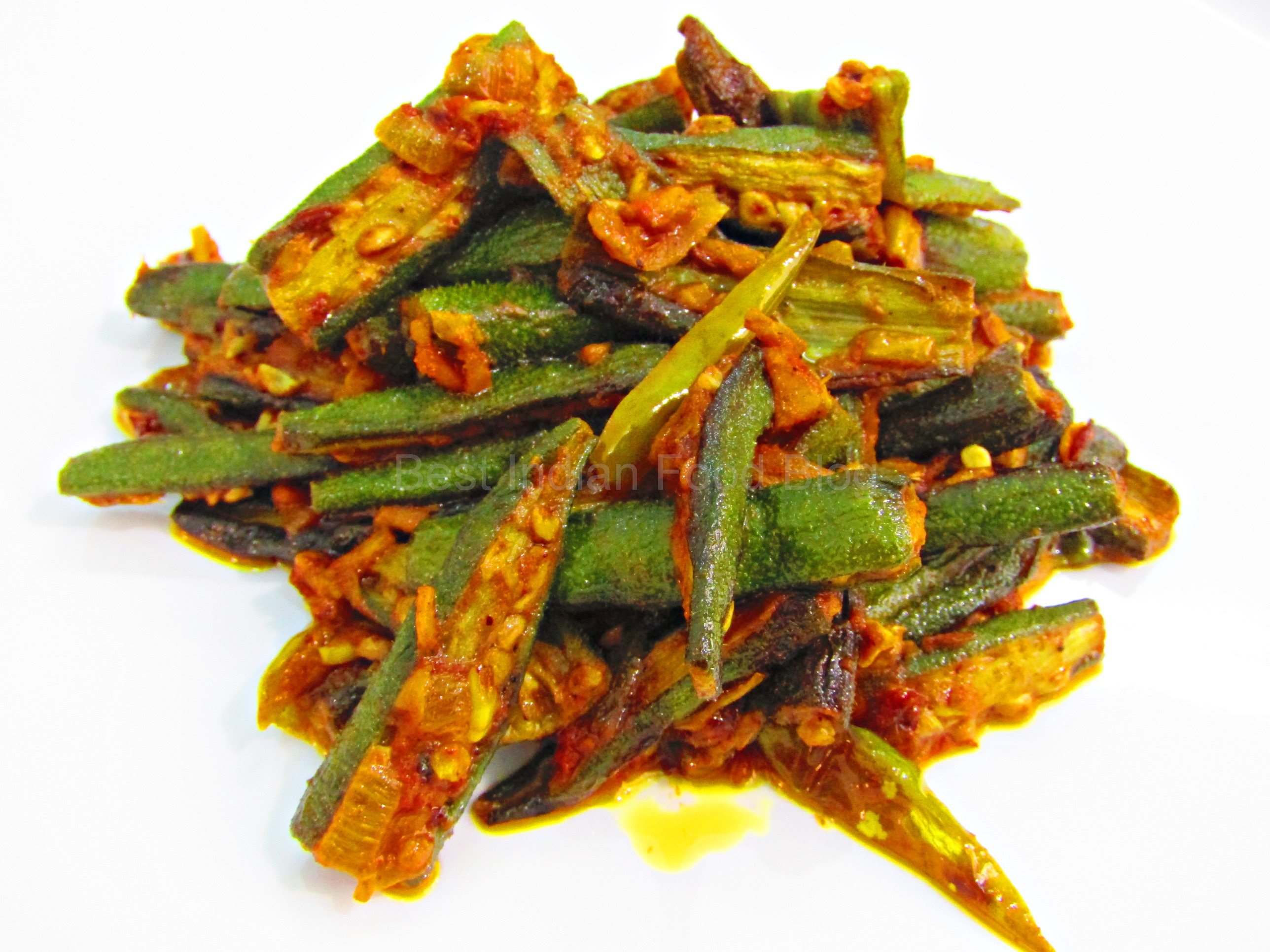 Bhindi Masala from Chandigarh, India | Best Indian Food Blog | Okra recipe