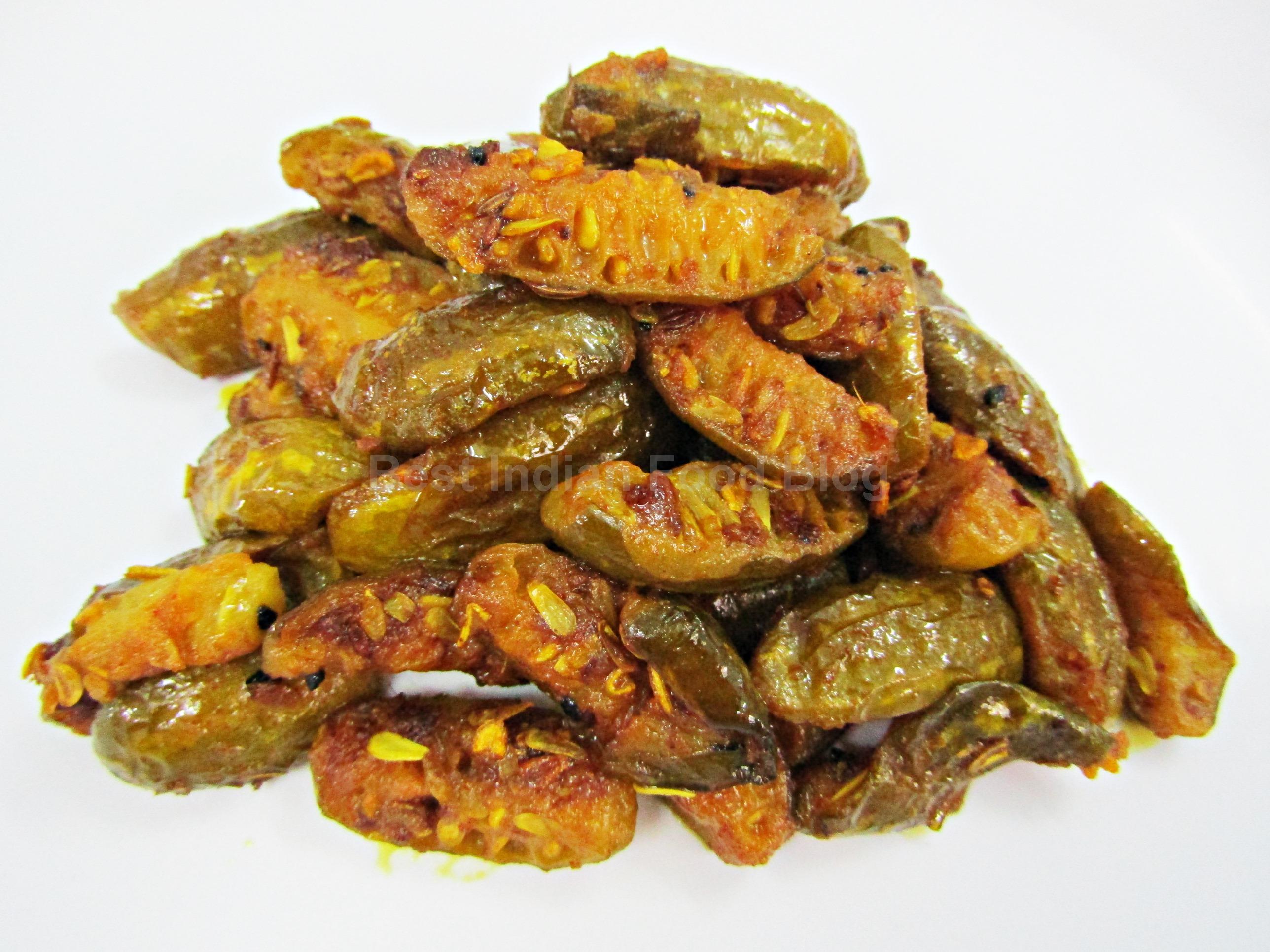 Kundru Bhujia from Bihar, India | Best Indian Food Blog | Ivy Gourd recipe