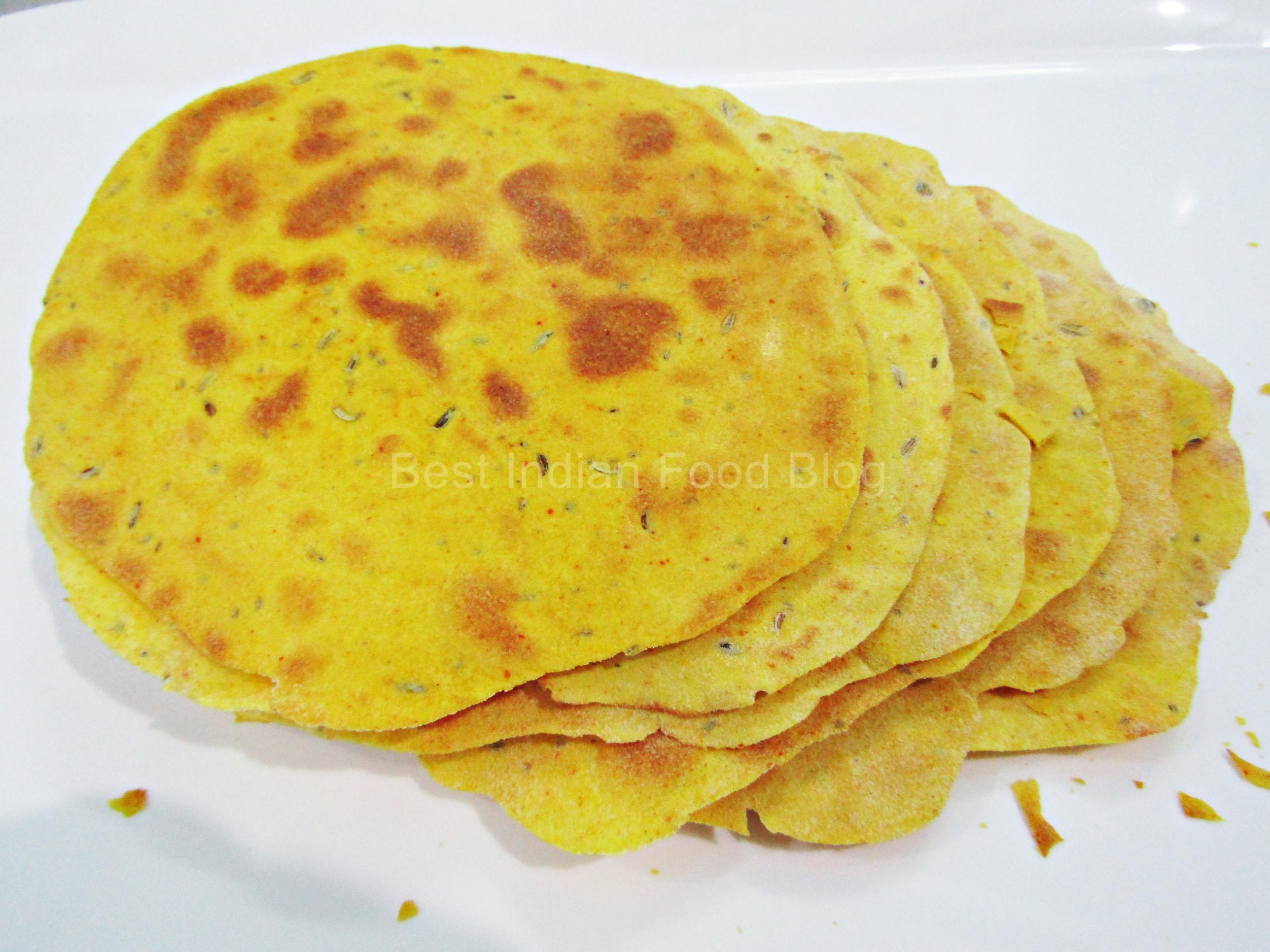 Khakhra from Dadra Nagar Haveli Daman Diu, India | Best Indian Food Blog | Wheat recipe