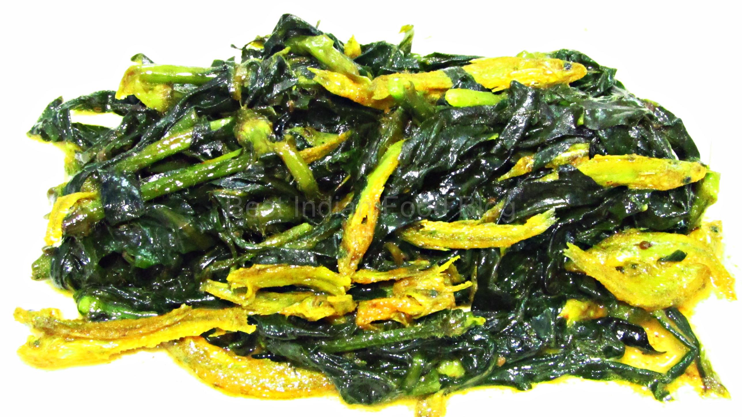 Batashi Kulekhara from West Bengal, India | Best Indian Food Blog | Indian Swampweed Batashi Fish recipe