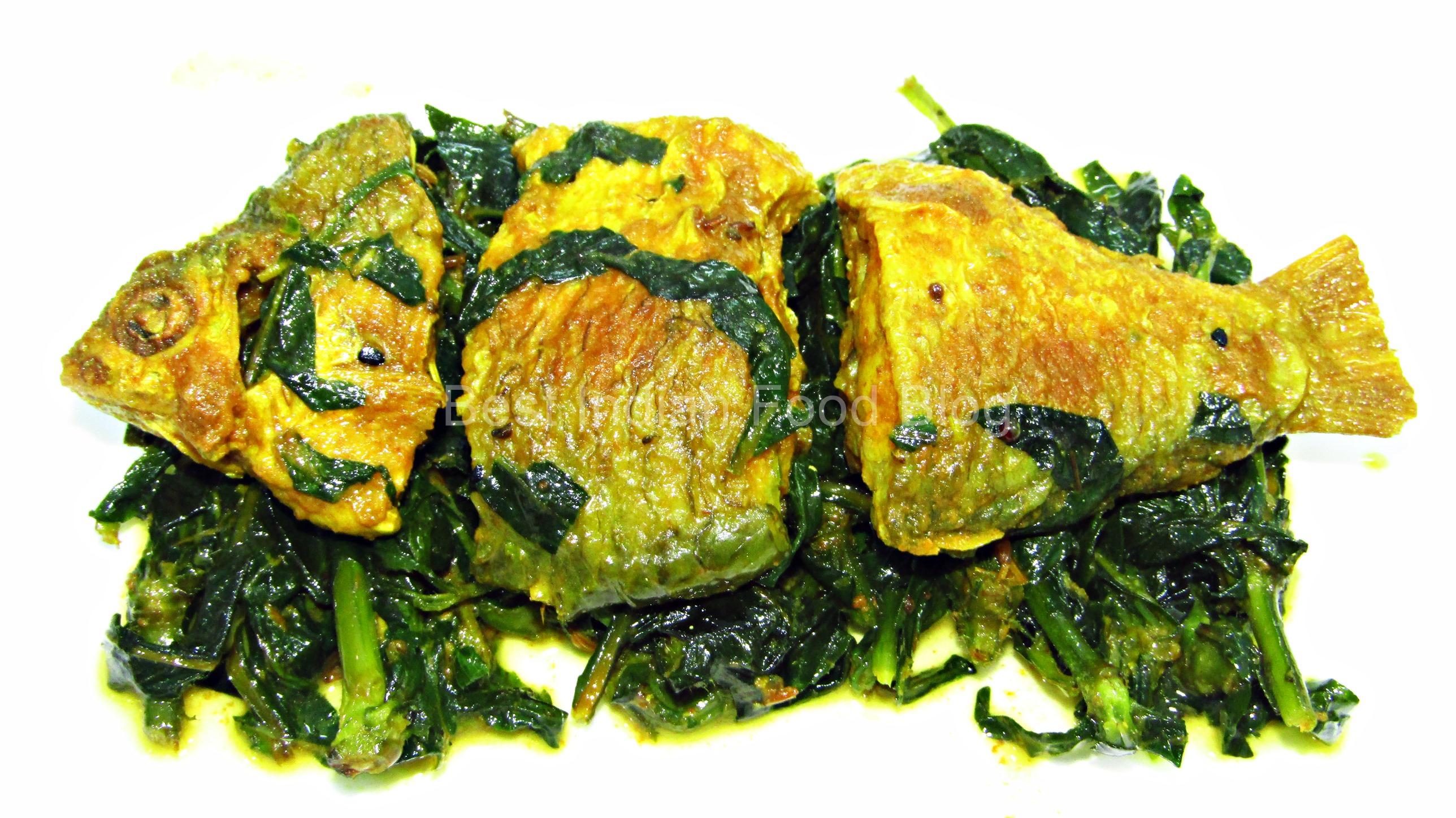 Kulekhara Sarputi from West Bengal, India | Best Indian Food Blog | Indian Swampweed Olive Barb recipe