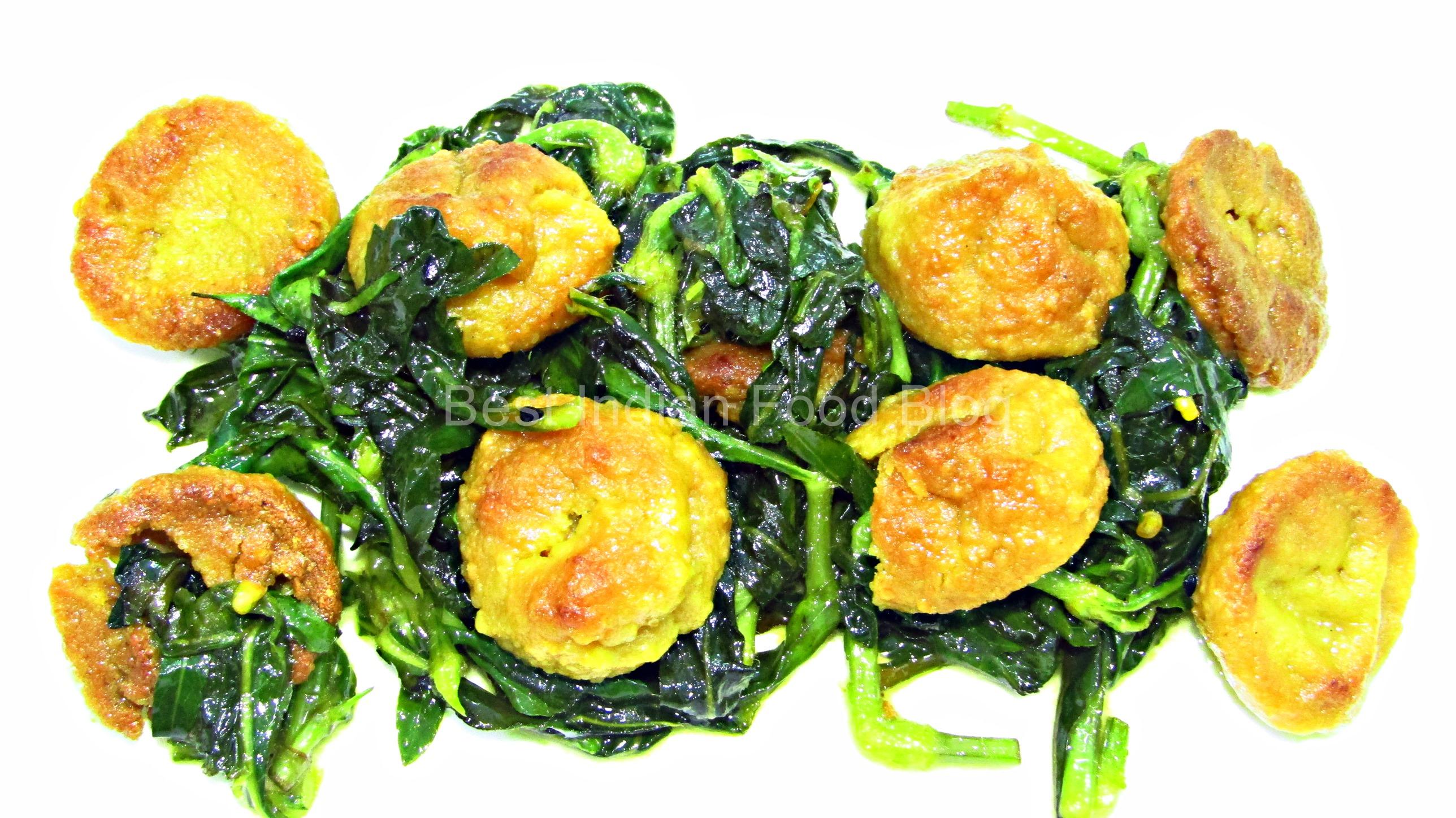 Kulekhara Bori from West Bengal, India | Best Indian Food Blog | Indian Swampweed Bori recipe