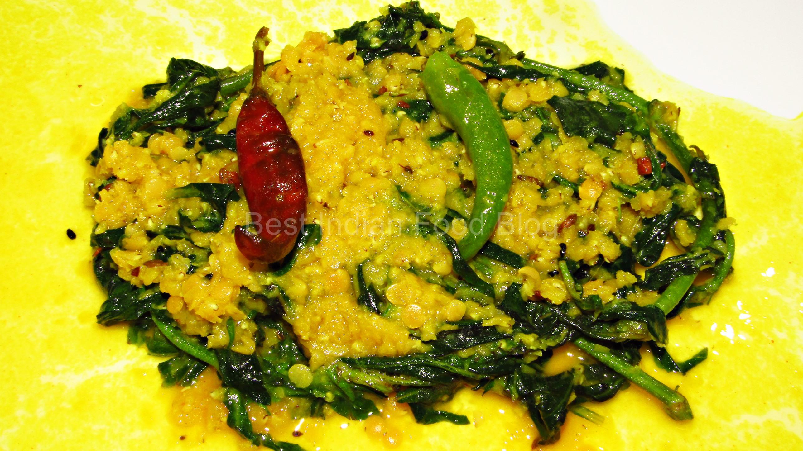 Kulekhara Musuri from West Bengal, India   Best Indian Food Blog   Indian Swampweed Lentils recipe