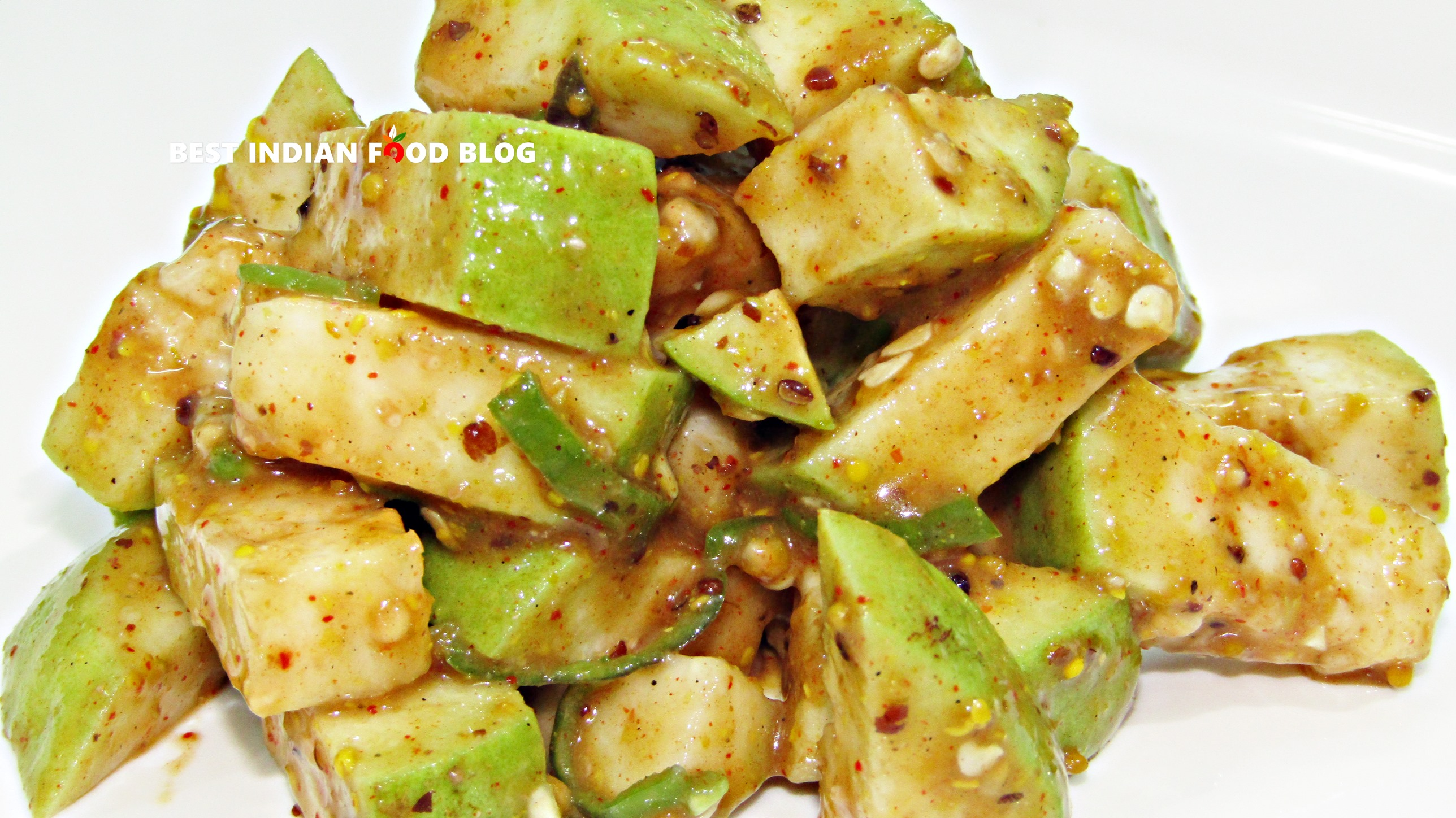 Amrud Chat from Delhi, India   Best Indian Food Blog   Guava recipe