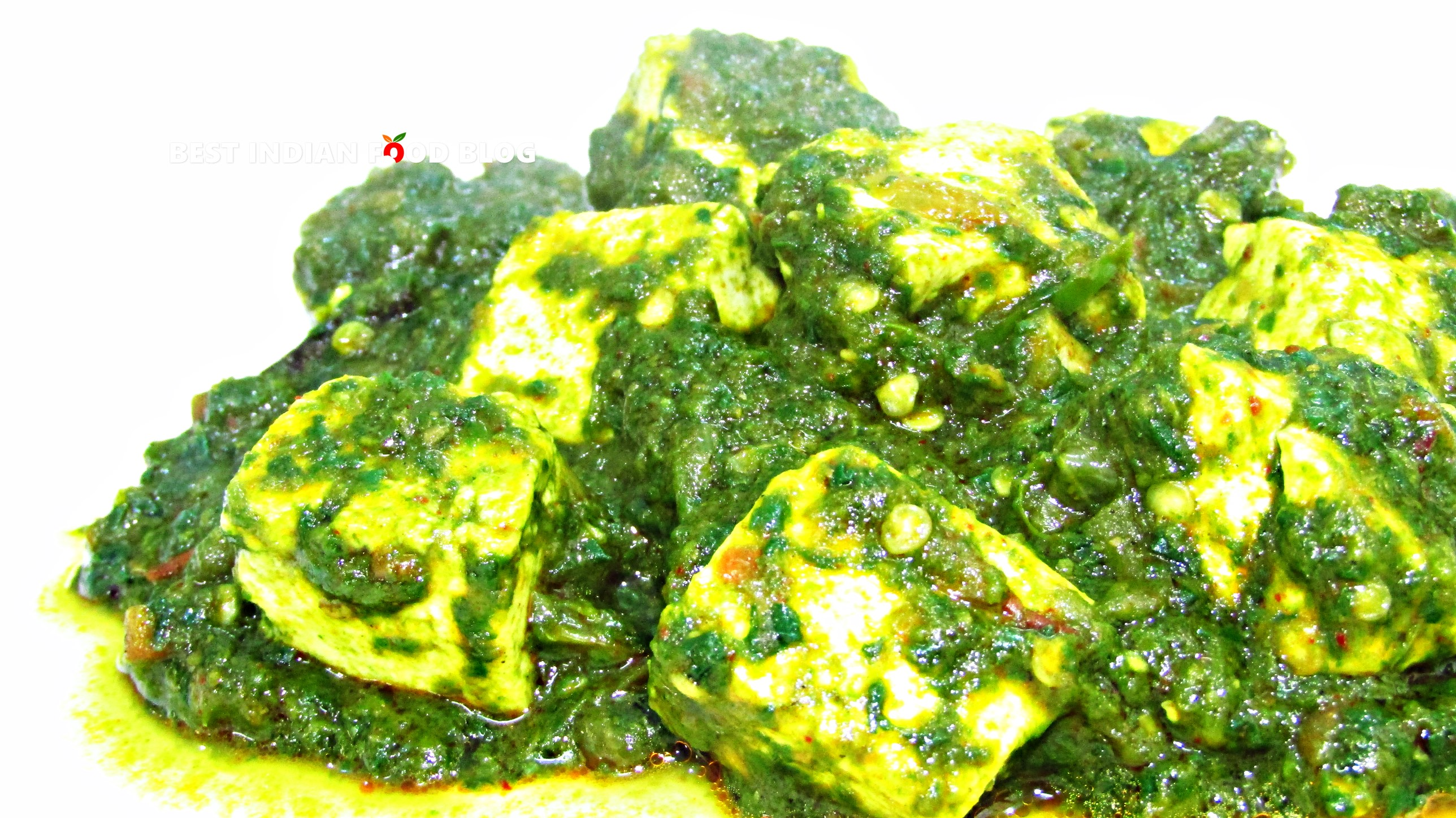 Palak Paneer from Haryana, India | Best Indian Food Blog | Cottage Cheese Spinach recipe