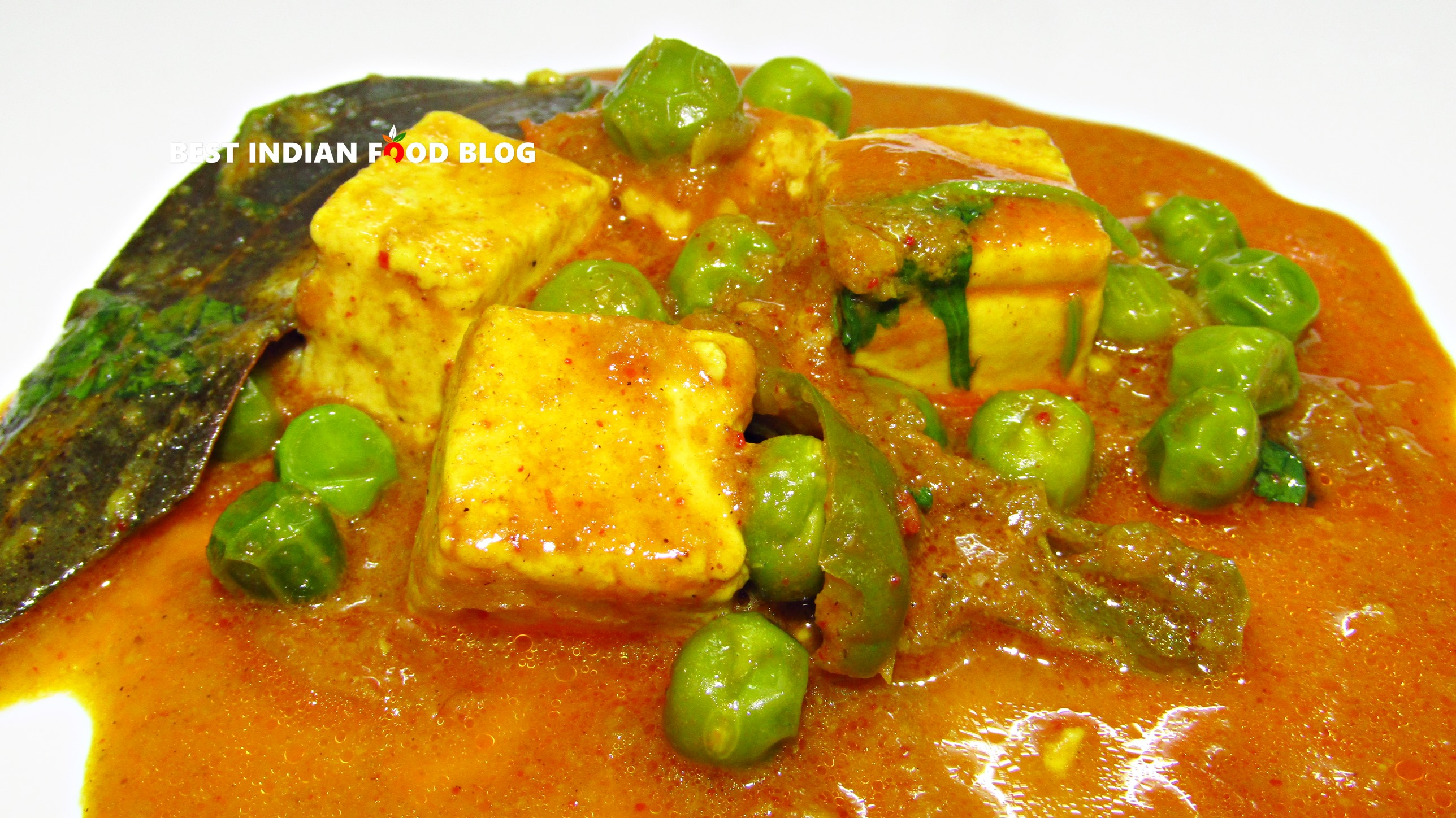 Matar Paneer from Chandigarh, India | Best Indian Food Blog | Cottage Cheese Pea recipe