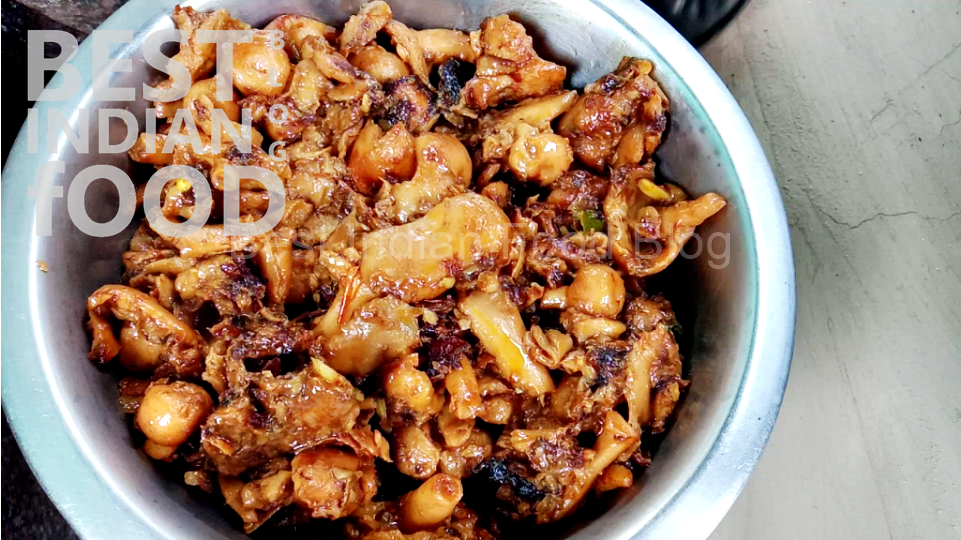 Khukri Sabzi from West Bengal, India | Exclusive! First time on web! Best Indian Food Blog | Mushroom recipe
