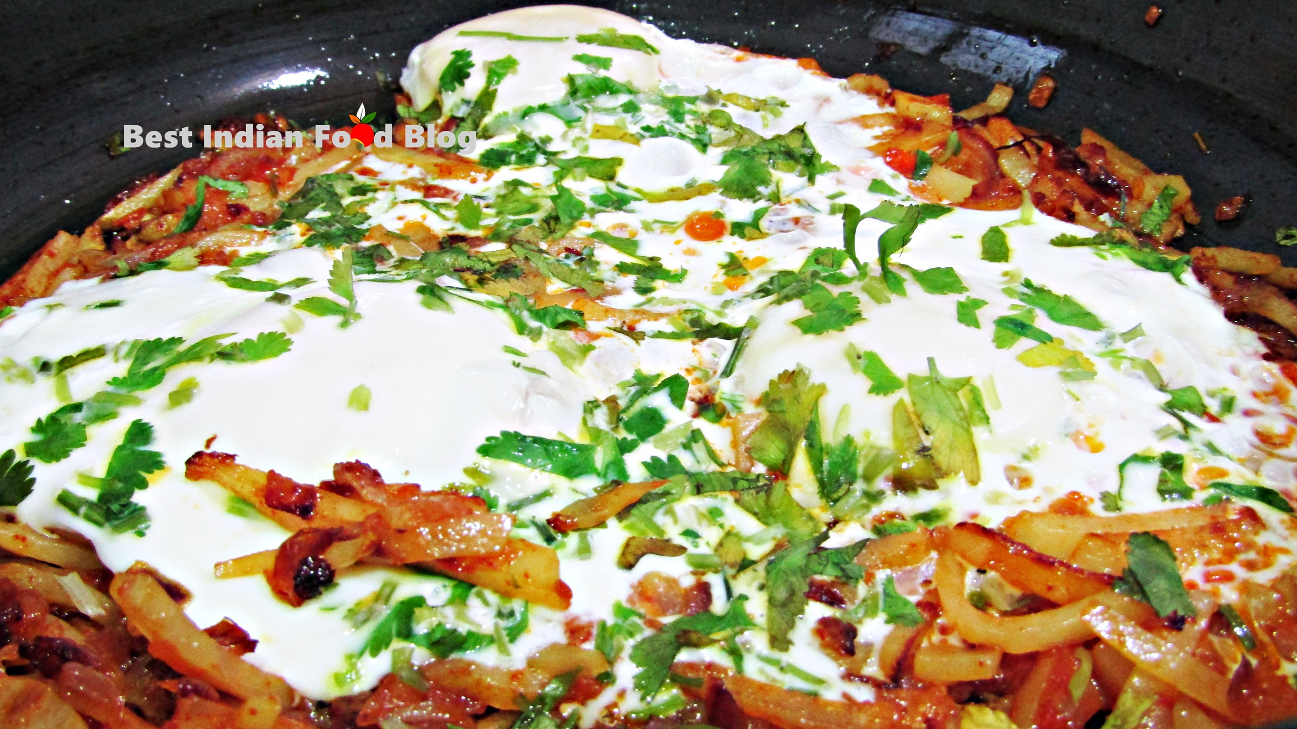 Papeta Par Eeda from Goa, India | Best Indian Food Blog | Potato Poultry egg recipe