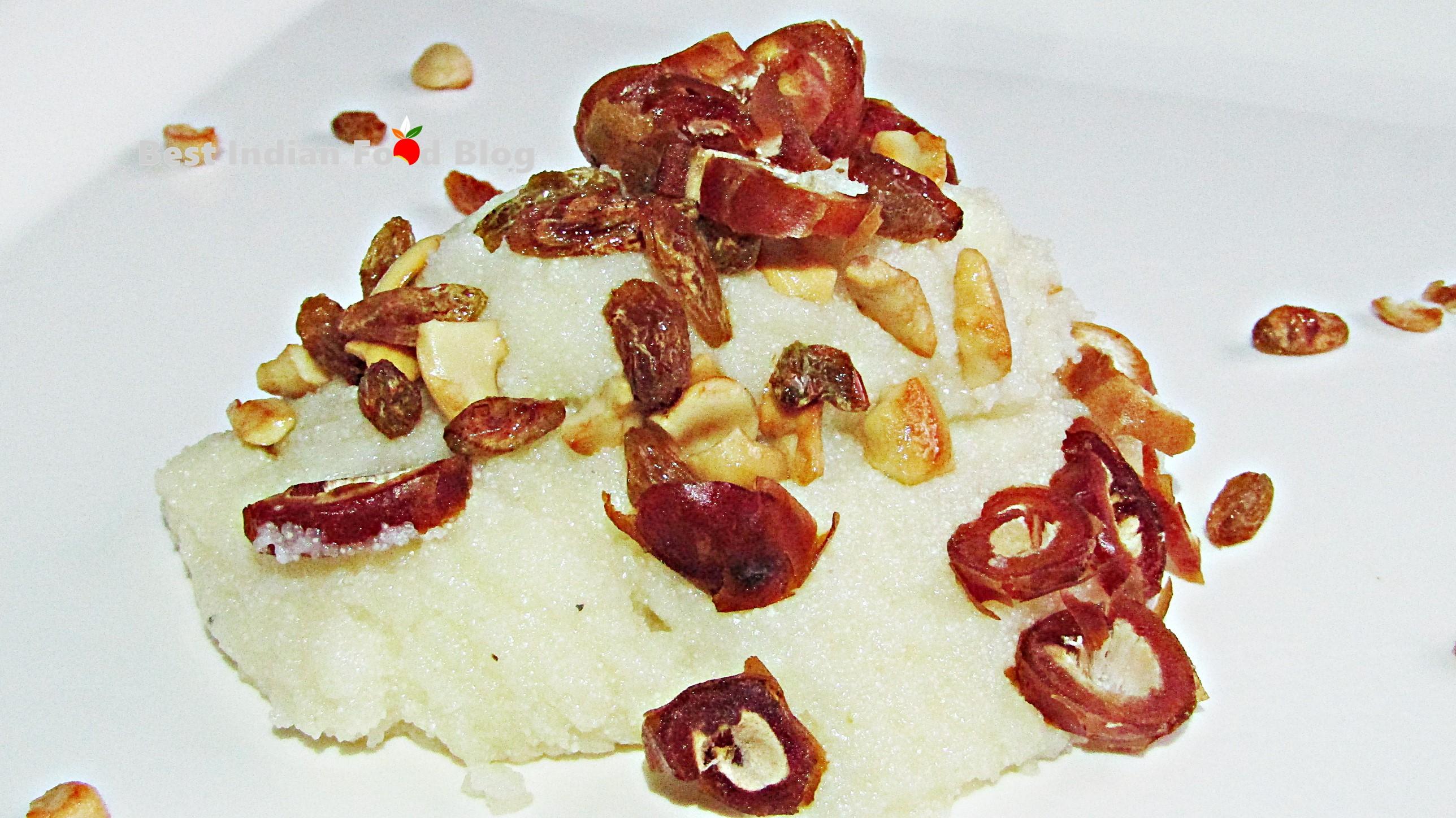 Ravo from Daman and Diu, India | Best Indian Food Blog | Semolina recipe