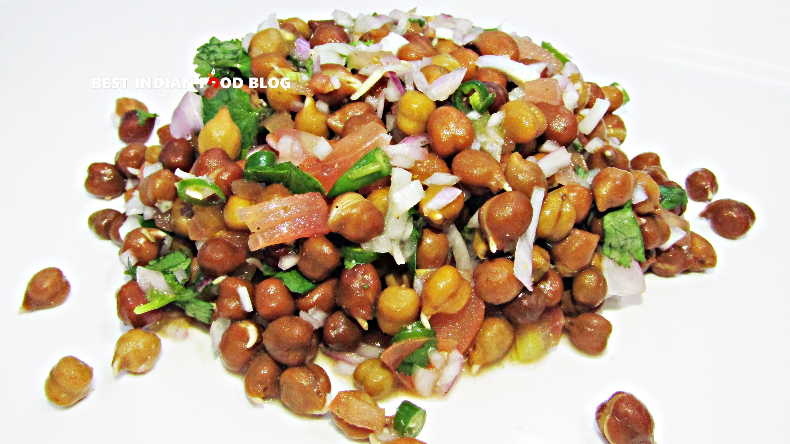 Chana Chat from Maharashtra, India | Best Indian Food Blog | Chickpea recipe