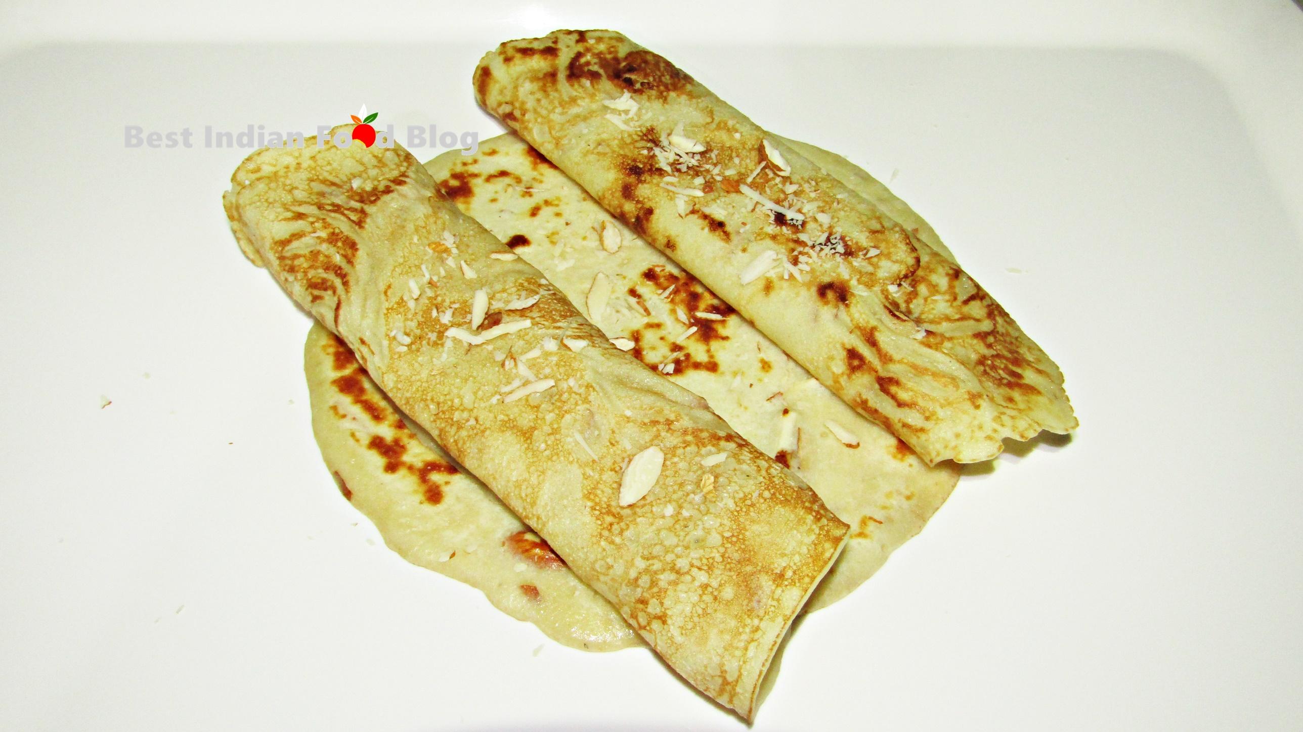 Chapat from Goa, India | Best Indian Food Blog | Semolina Flour recipe