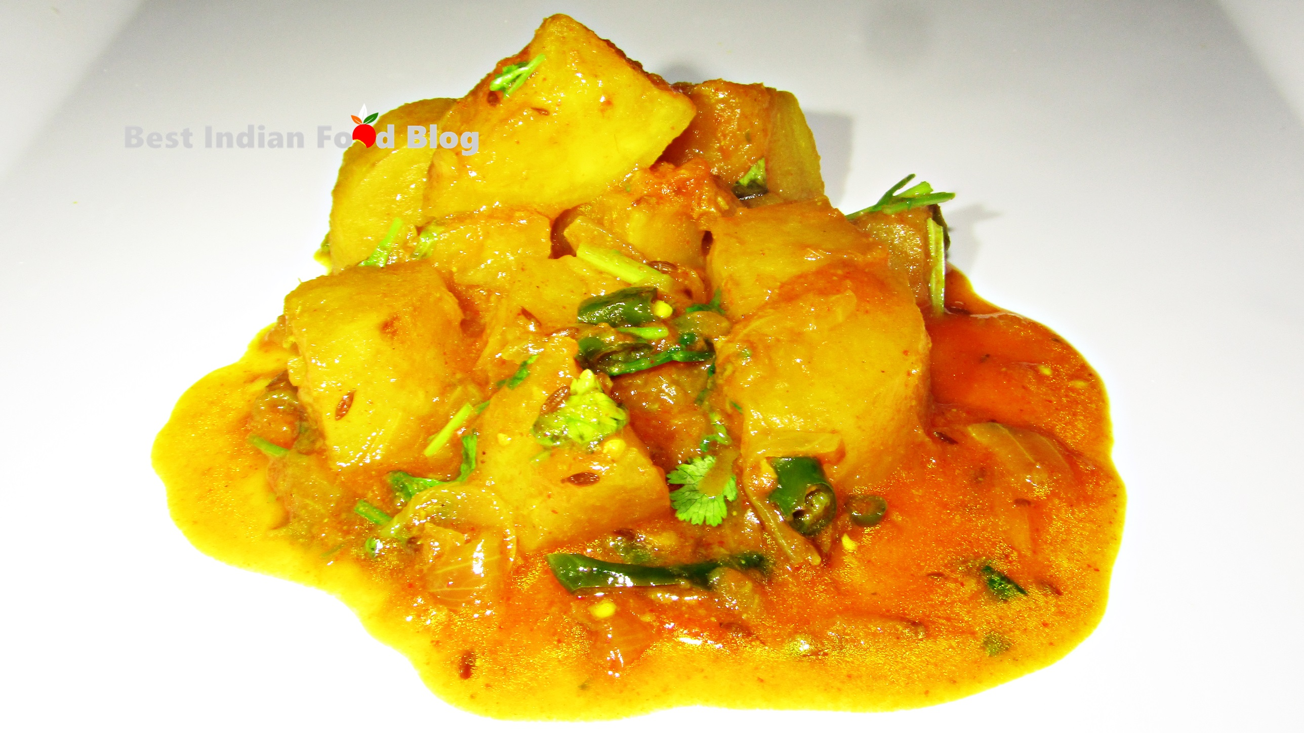 Jara ko Sabzi from Sikkim, India   Best Indian Food Blog   Chayote Root recipe