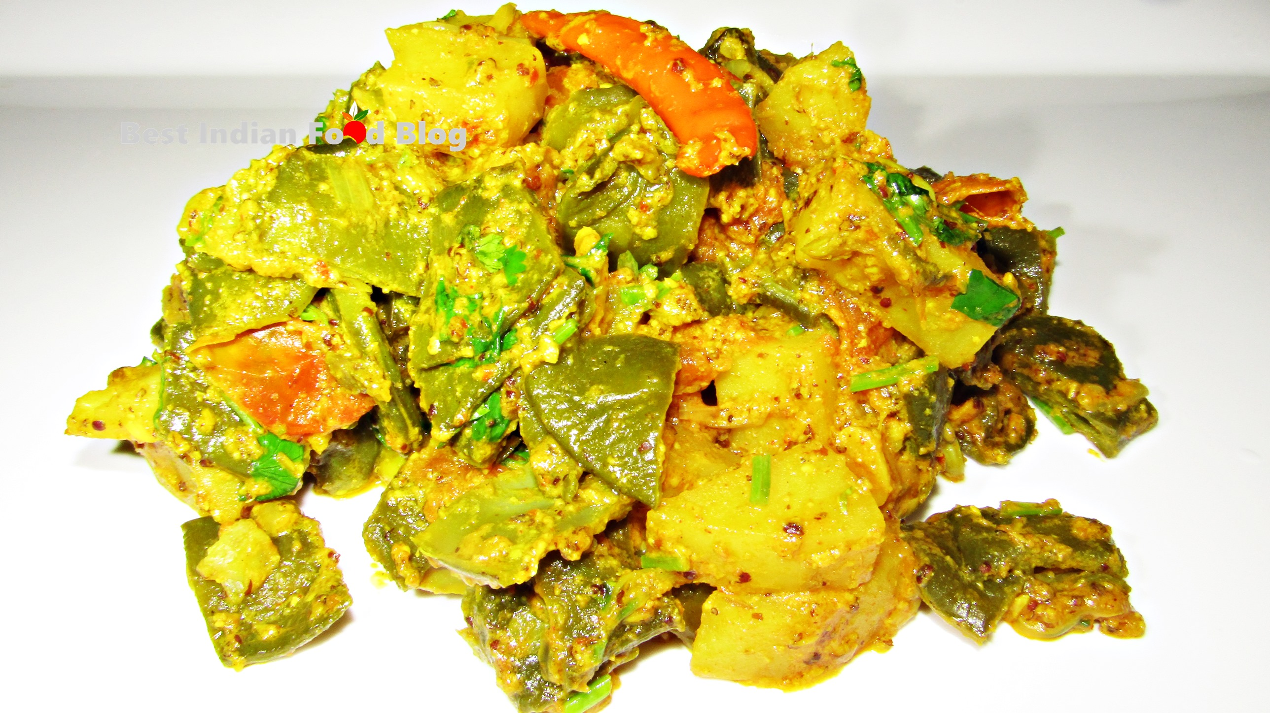 Simba Bati Basa from Odisha, India | Best Indian Food Blog | Flat Bean recipe