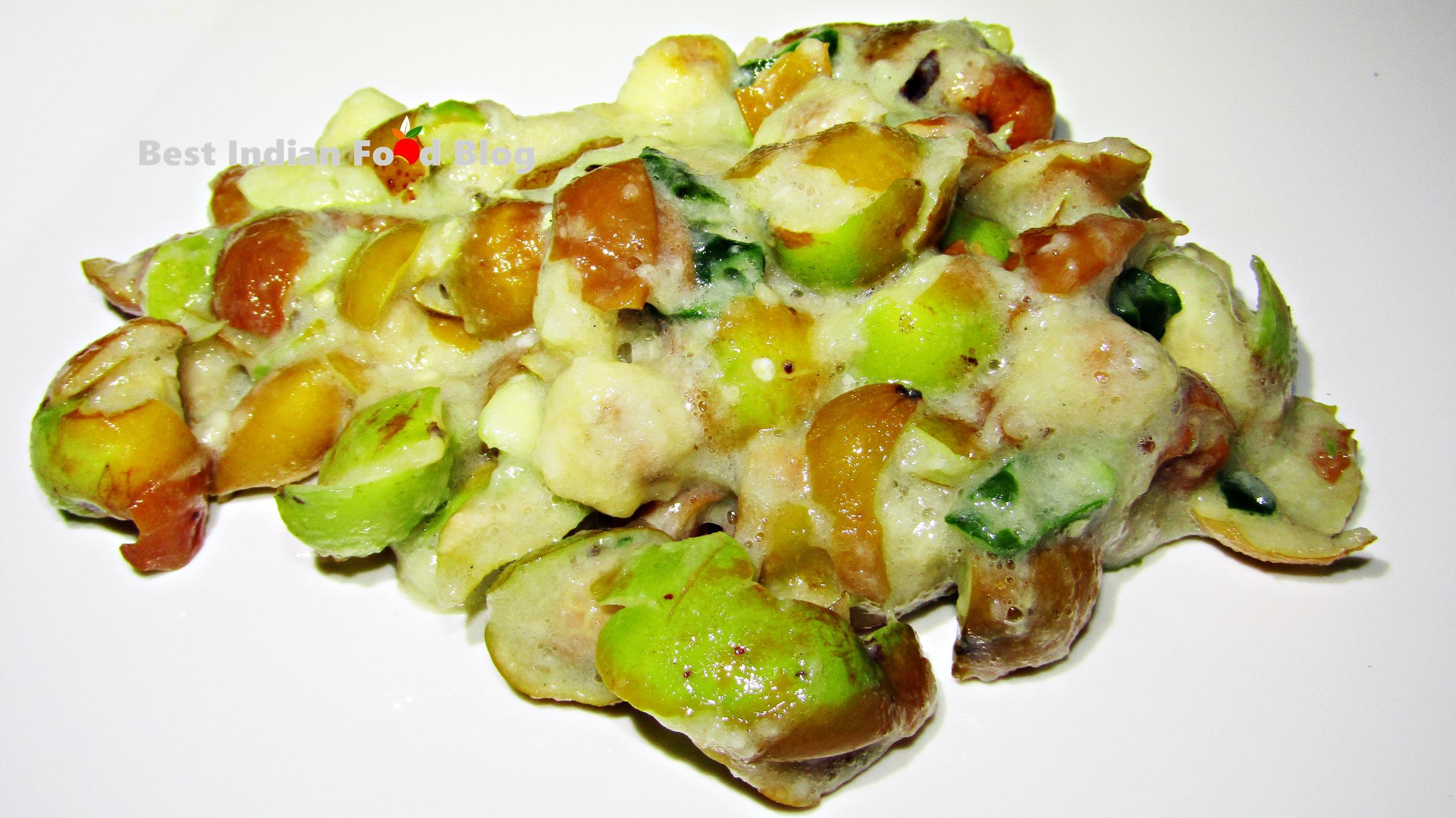 Kul Makha from West Bengal, India | Best Indian Food Blog | Jujube recipe