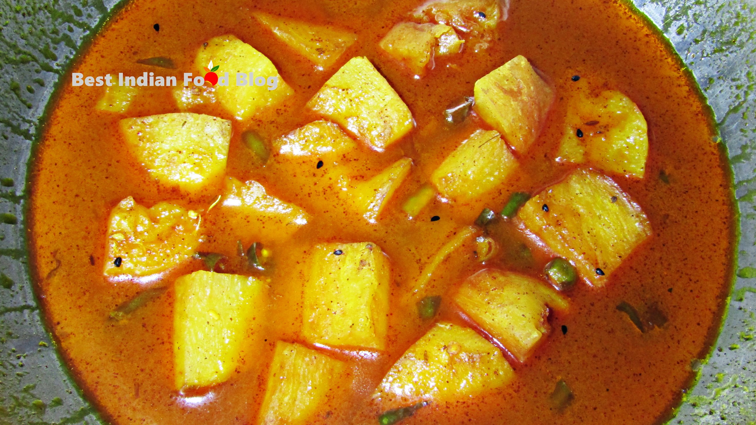 Jara Dum from Sikkim, India | Best Indian Food Blog | Chayote Root recipe