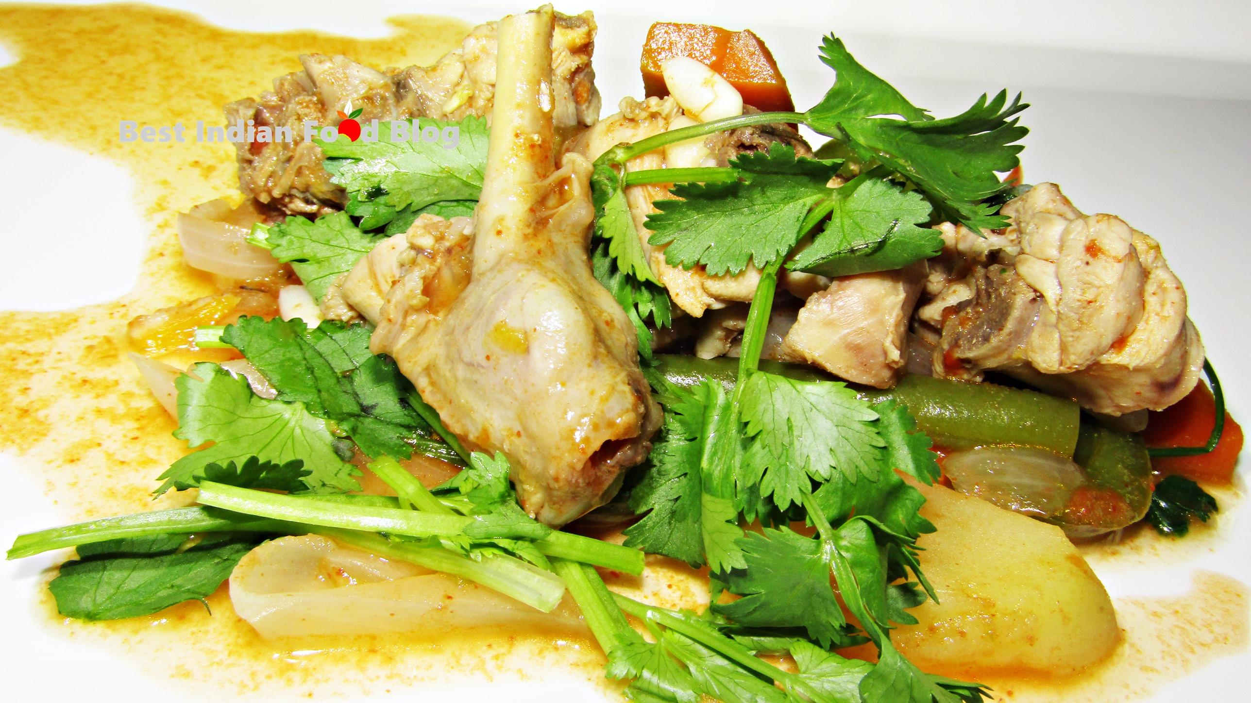 Yen Kangsoi from Manipur, India | Best Indian Food Blog | Chicken recipe