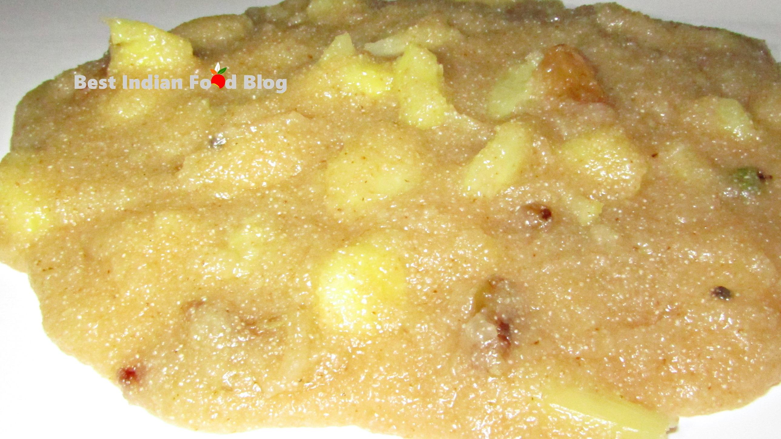 Annasi Kesari from Andaman and Nicobar Islands, India   Best Indian Food Blog