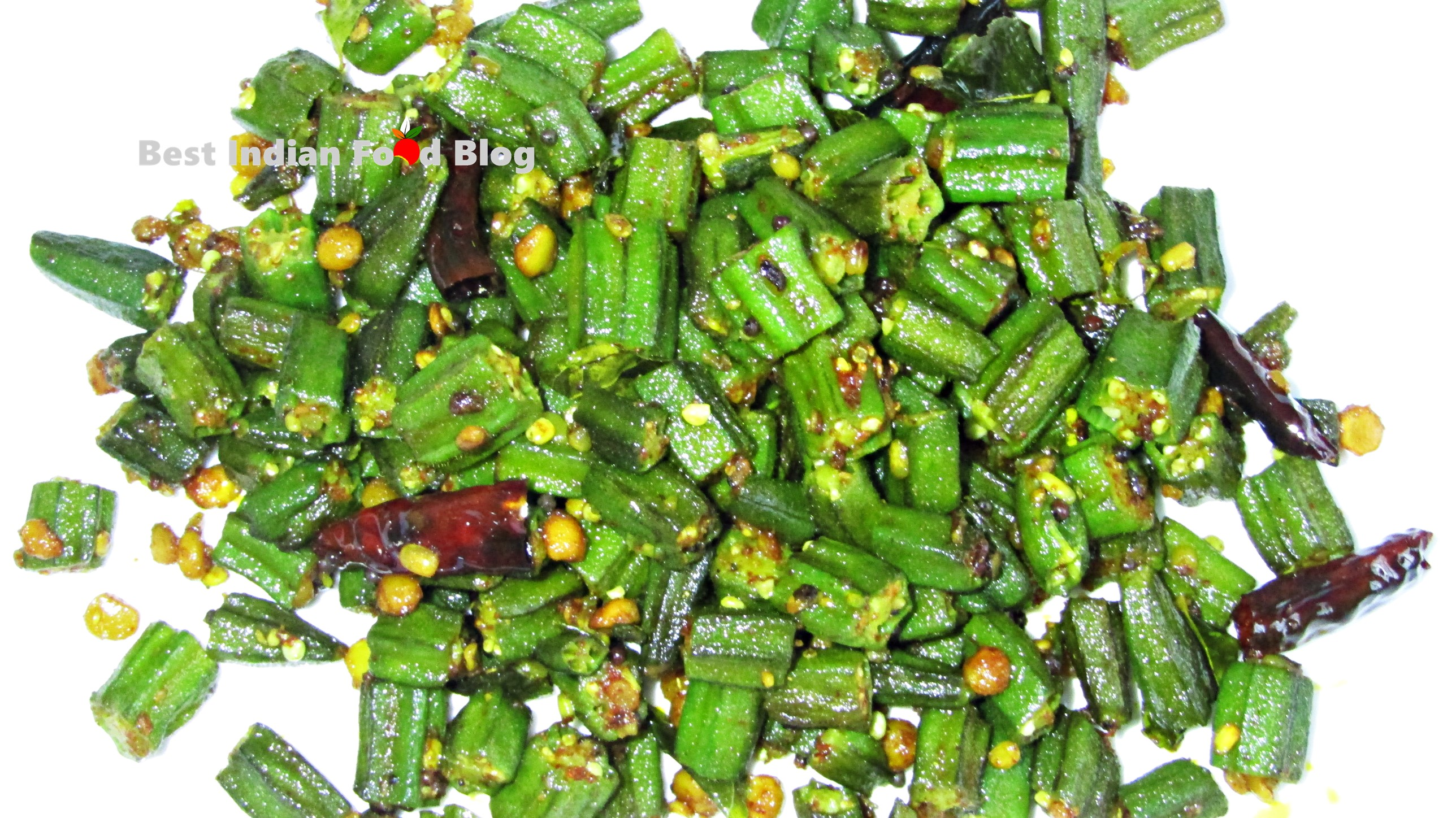 Vendakkai Poriyal from Puducherry, India | Best Indian Food Blog