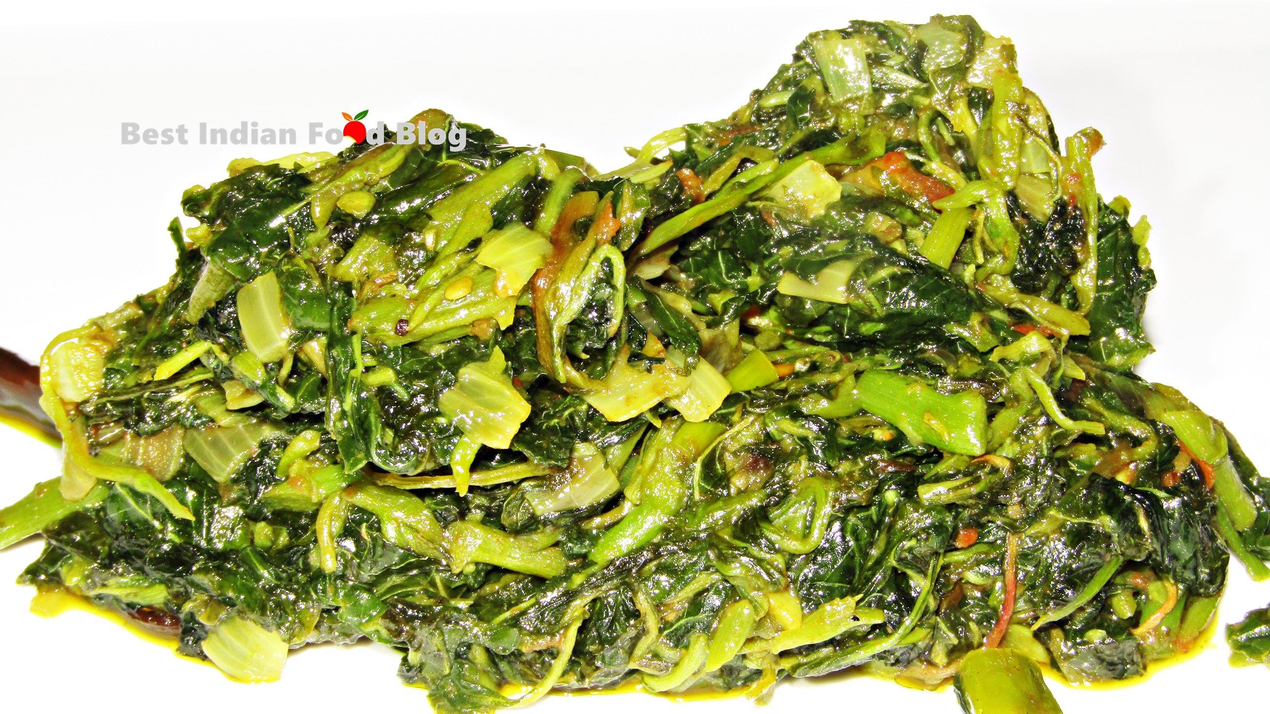 Chaulai Bhaji from Chhattisgarh, India | Best Indian Food Blog