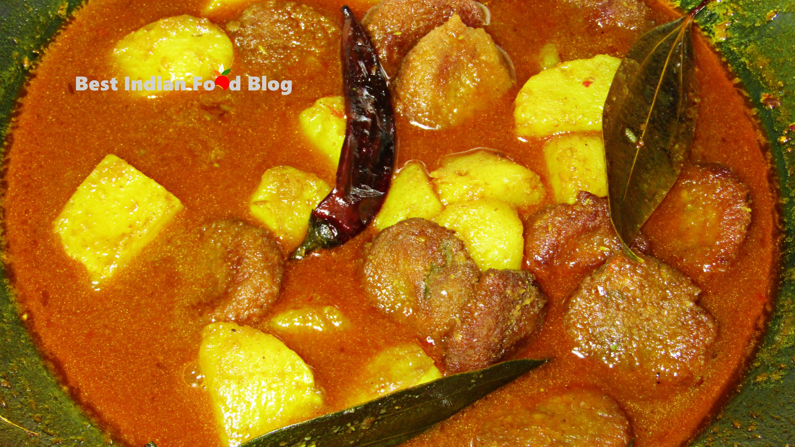 Bora Alur Dalna from West Bengal, India | Best Indian Food Blog