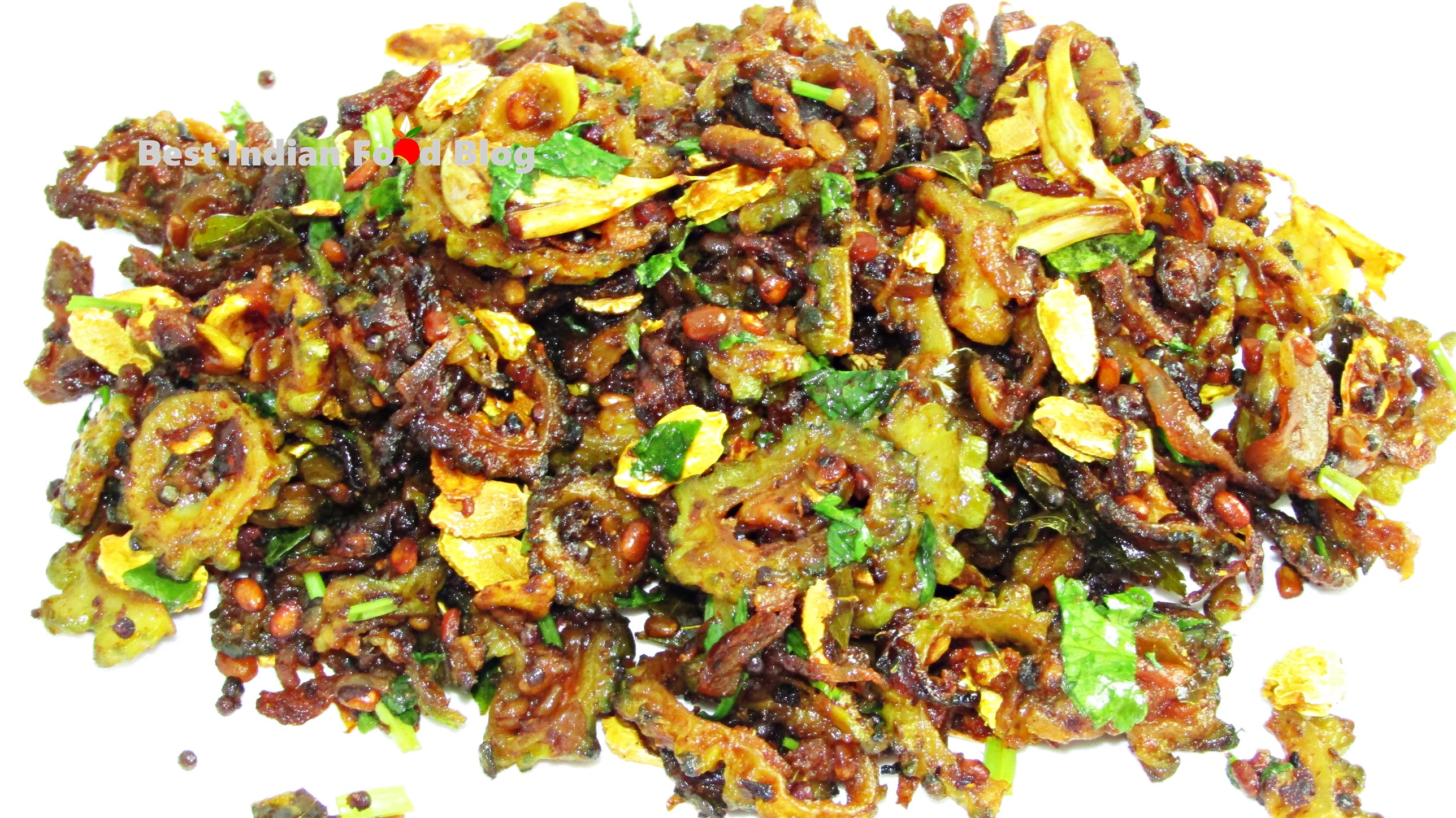 Pavakkai Phrai Ceyuka from Kerala, India | Best Indian Food Blog