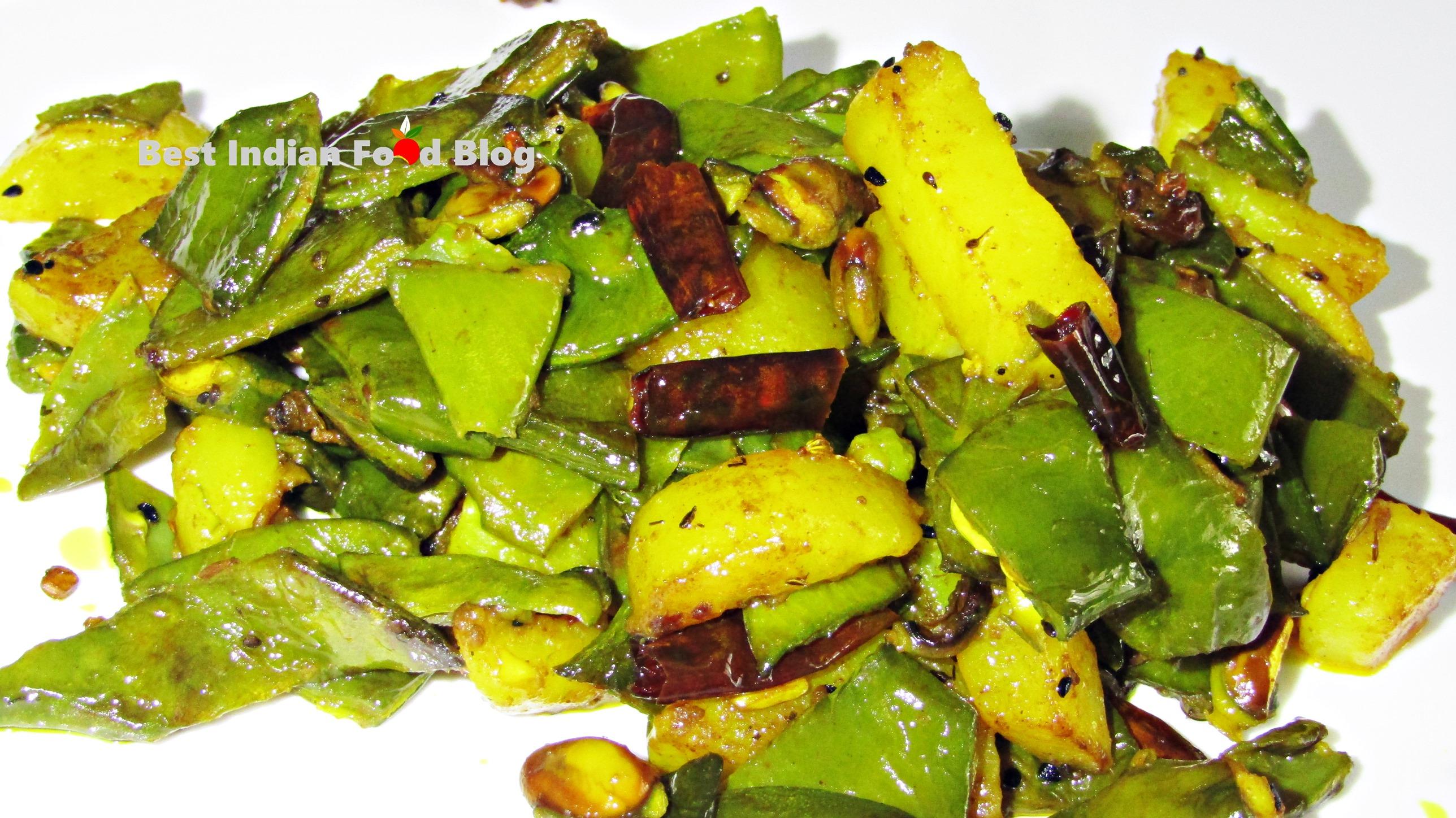 Simba Alu Bhaja from Odisha, India | Best Indian Food Blog