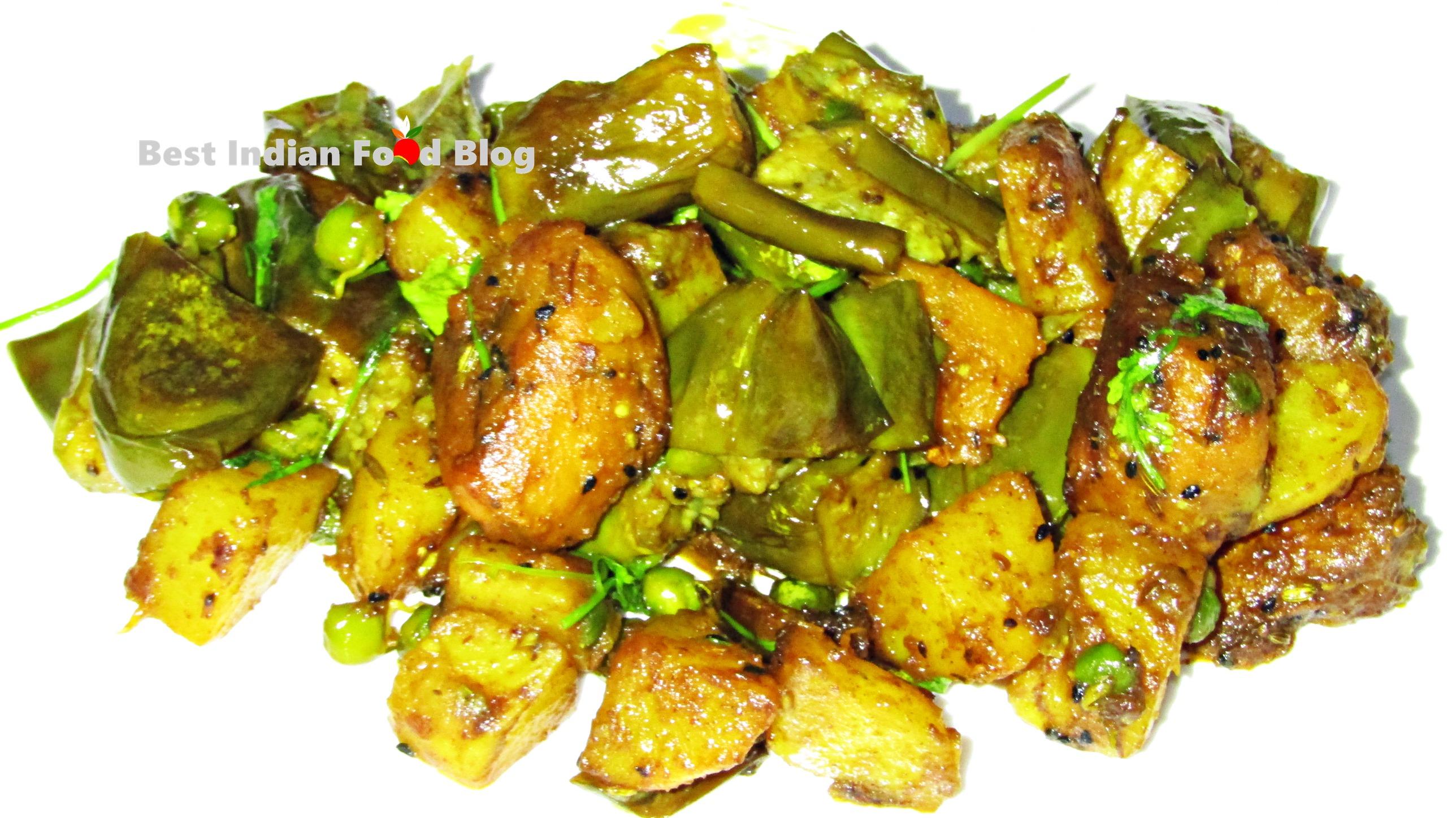 Panch Phoron Tarkari from Meghalaya, India   Best Indian Food Blog