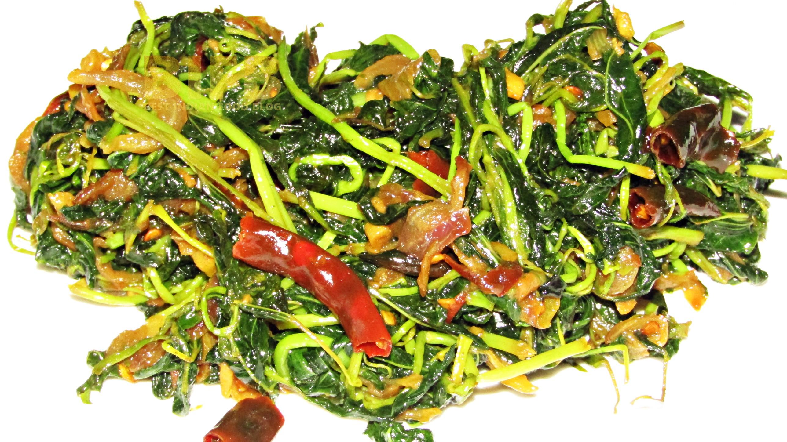 Chech Bhaji from Chhattisgarh, India | Best Indian Food Blog