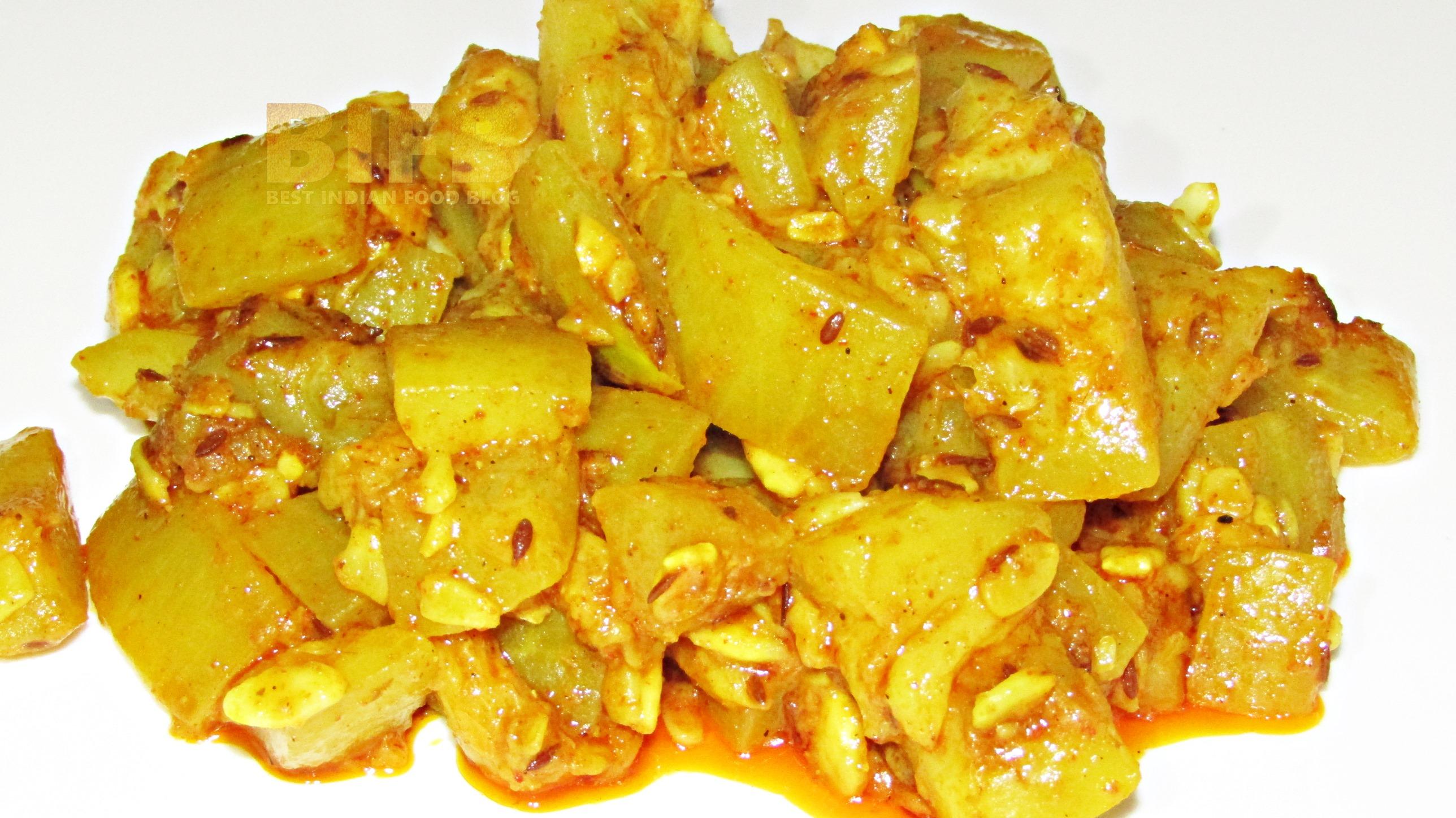 Lauki ki Sabzi from Delhi, India | Best Indian Food Blog