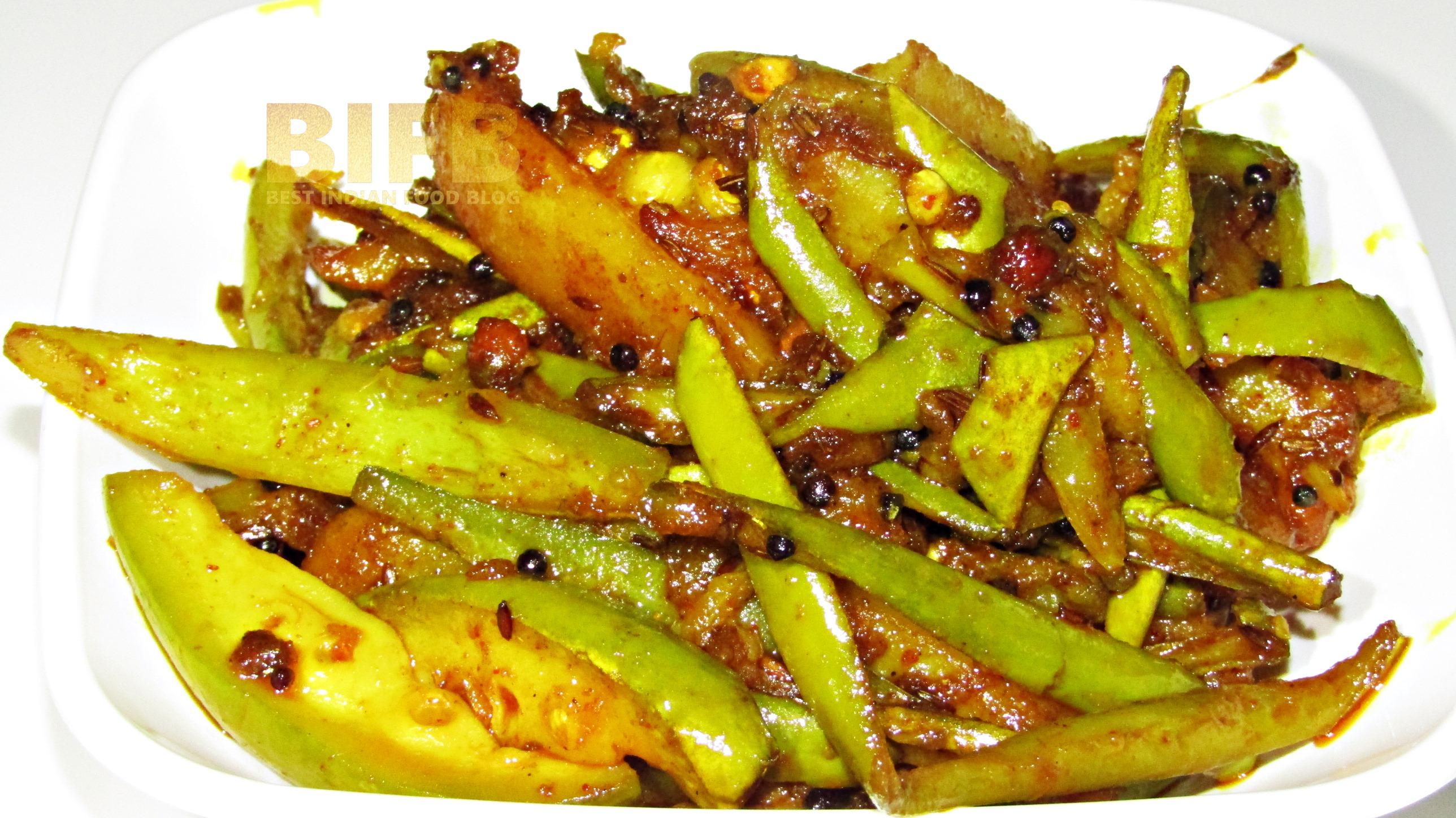 Parval Bataka Nu Shaak from Gujarat, India | Best Indian Food Blog