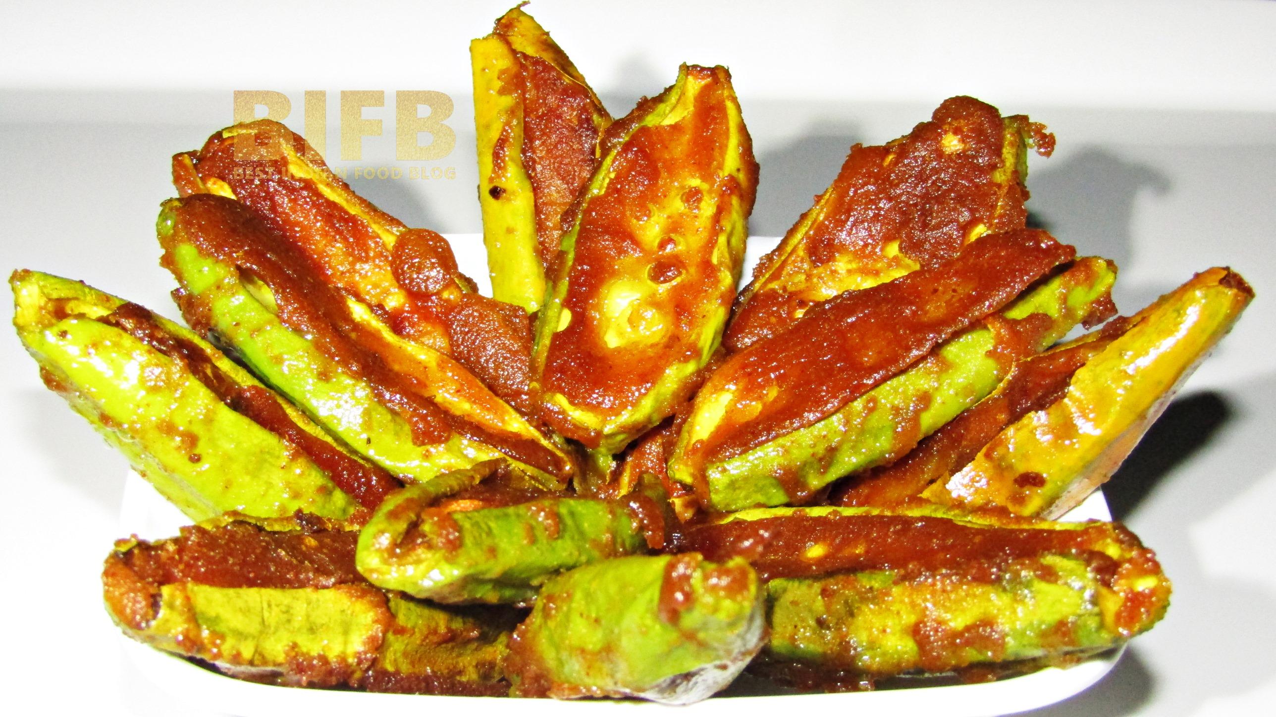 Potala Bhaja from Odisha, india   Best Indian Food Blog   Pointed Gourd recipe