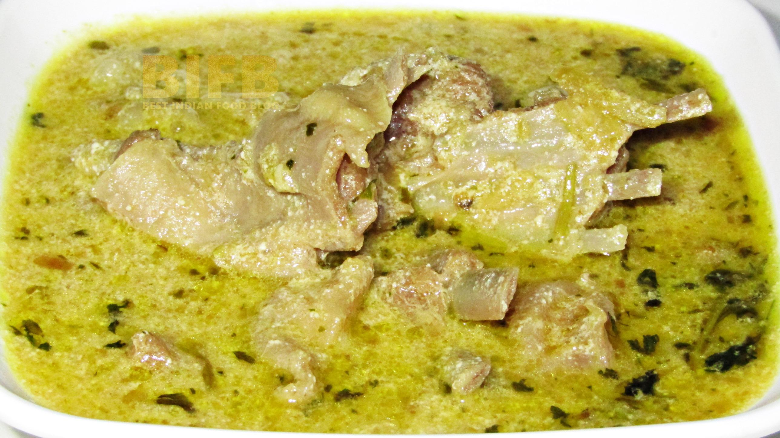 Yakhni from Jammu and Kashmir, India | Best Indian Food Blog | Mutton Yogurt recipe