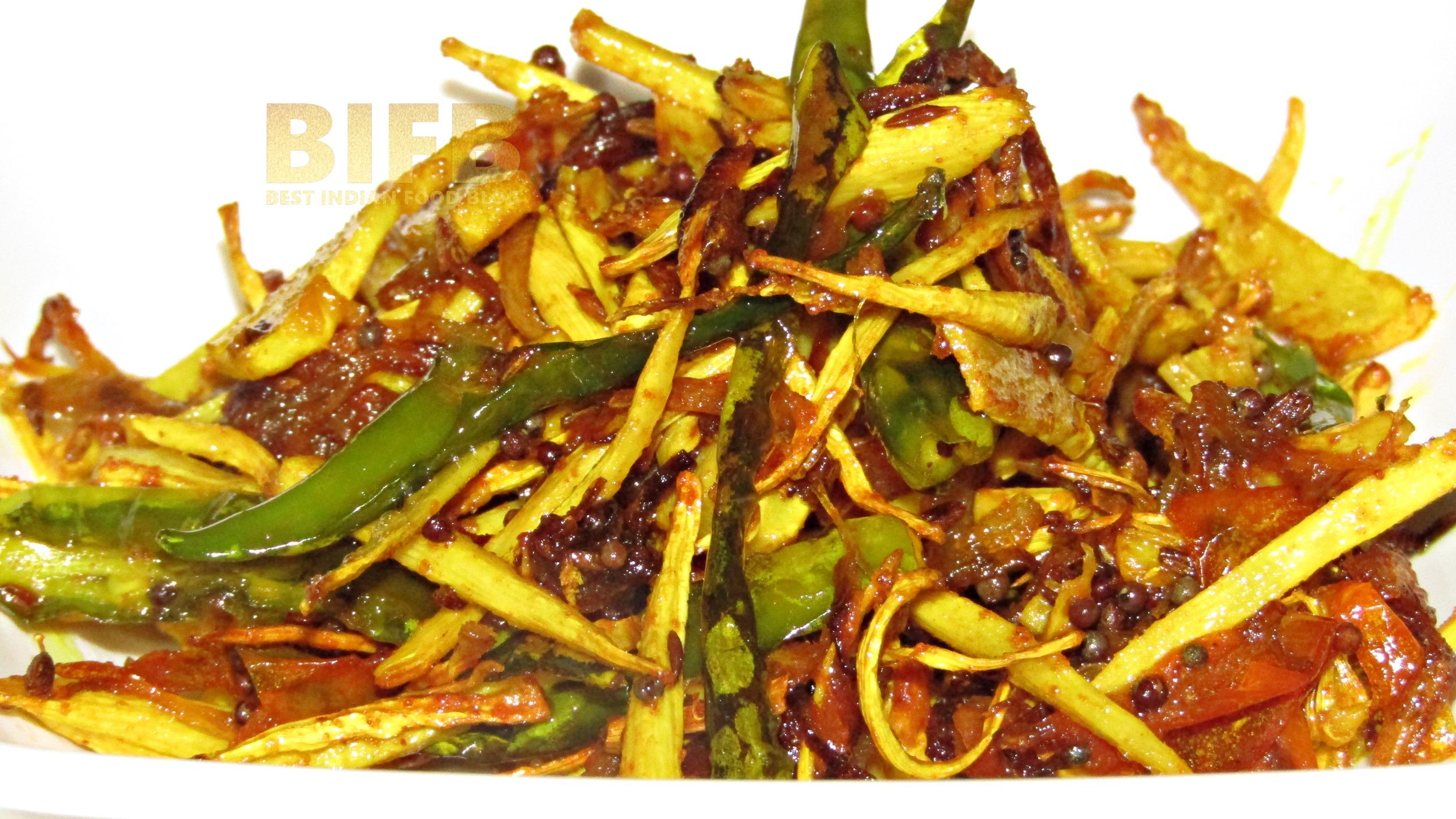 Karadi Bhaja Odisha, India | Best Indian Food Blog | Bamboo Shoot recipe