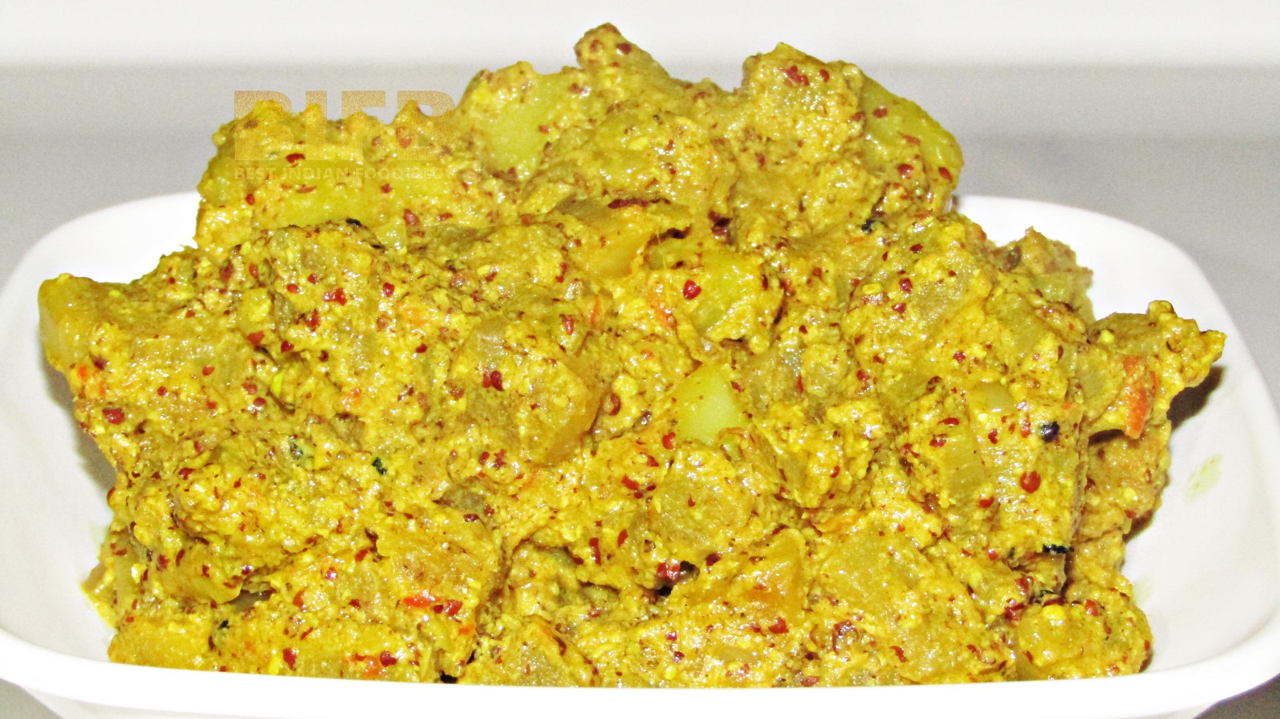 Manja Rai from Odisha, India | Best Indian Food Blog | Mustard Seed Banana Stem recipe