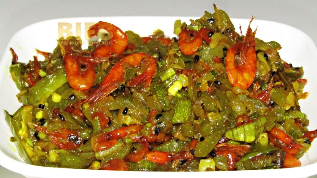 Chichinga Chingri from West Bengal, India | Best Indian Food Blog | Shrimp Snake Gourd recipe