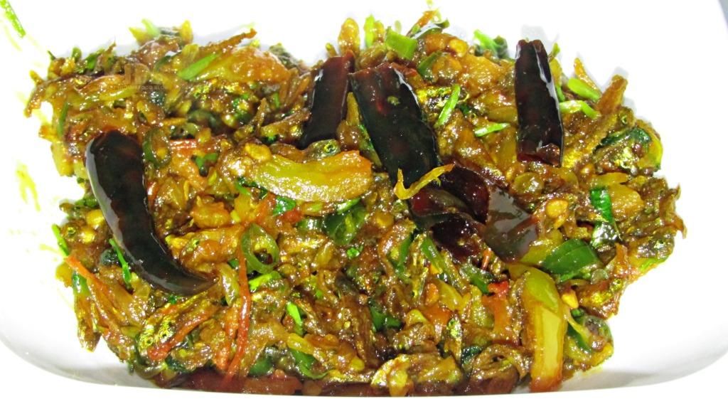 Sidra ko Achar from Sikkim, India | Best Indian Food Blog | Dehydrated Fish recipe